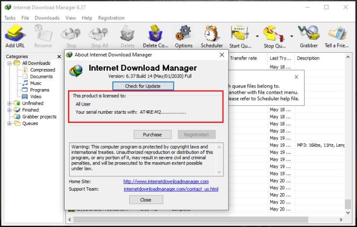Internet Download Manager 6.18 Crack + Serial Key